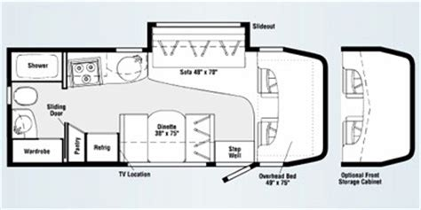 navion rv floor plans 2009 itasca navion 24h reviews winnebago motorhome reviews
