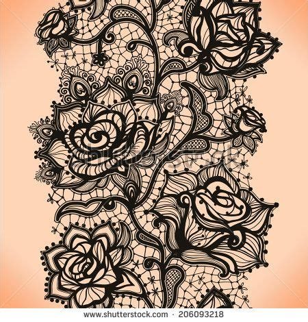 lace pattern tattoo template abstract seamless lace pattern with flowers roses