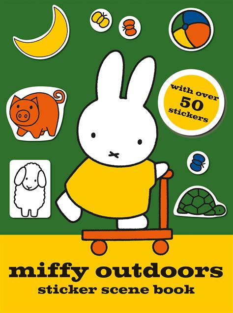 miffy outdoors sticker scene book book by simon