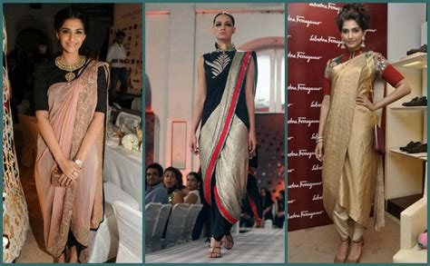 New Blouse Look Like Cape Blazer In Stlye how to wear designer saree dhoti saree pant style saree