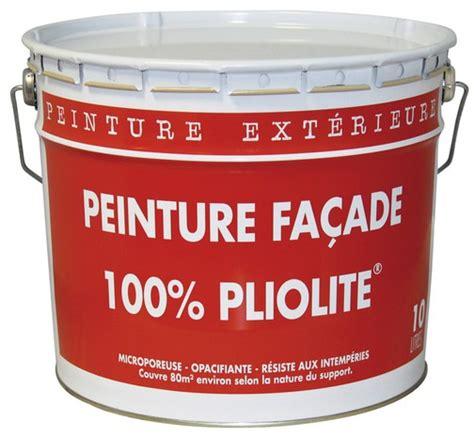 Teinter Peinture Blanche by Peinture Pour Fa 231 Ade Pliolite Blanc Mat 10 L Brico D 233 P 244 T