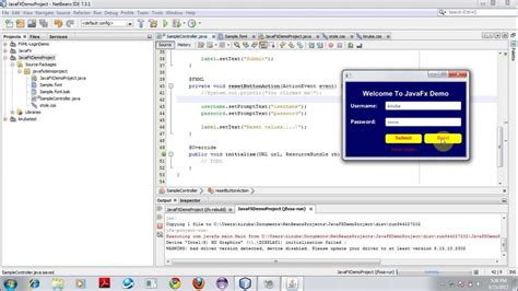 design web application in netbeans netbeans ide for javafx