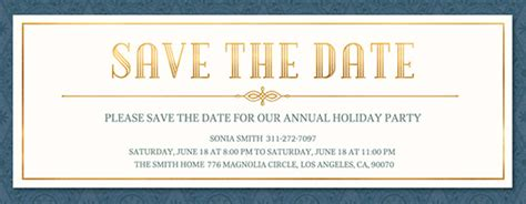 Free Save The Date Invitations And Cards Evite Com Save The Date Email Template