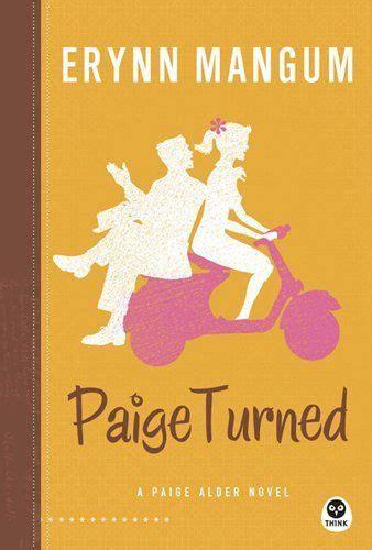 Paige Turned A Paige Alder Novel By Erynn Mangum
