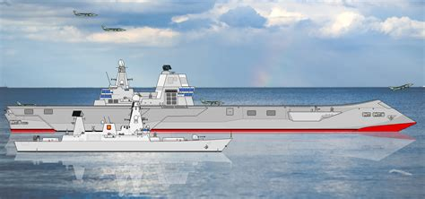 trimaran aircraft carrier nationstates dispatch commonwealth defence phoenix