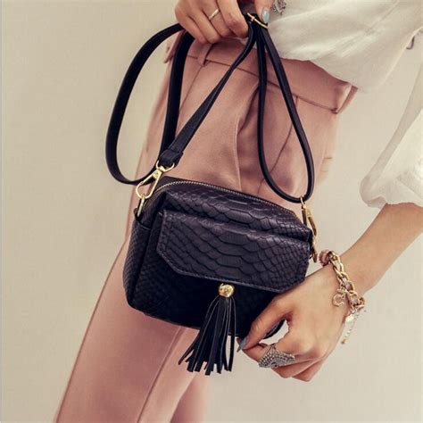 Hair Style Tools Bags by Buy Simple Alligator Crocodile Leather Mini Small