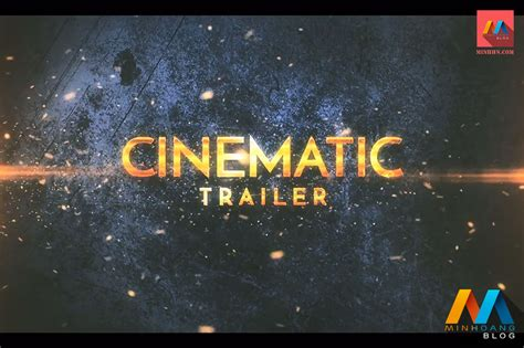 cinematic epic trailer after effects template minh ho 224 ng