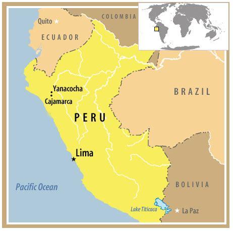 peru on the map maps world map peru