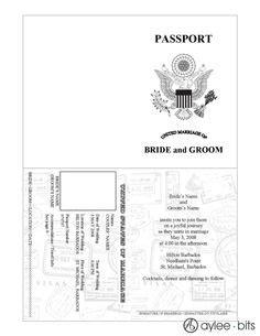 free passport invitation template printable passport template caroline s