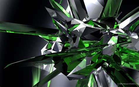 wallpaper crystal green emerald crystals wallpapers 1280x800