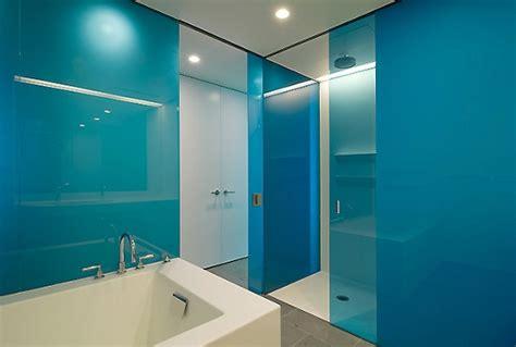 Glass Tile Bathroom Designs Badezimmer Design In Eigenarbeit Mit Acrylglas Zum Neuen