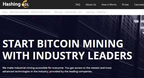 Hashing24 Makes Cloud Mining Inclusive by Cloud Mining Reviews