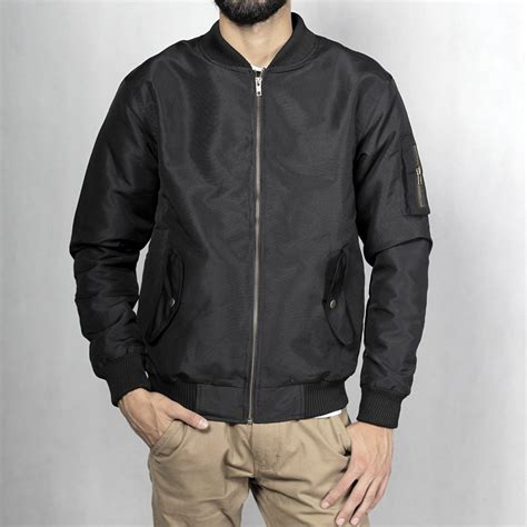 jaket parasut bomber black mall indonesia