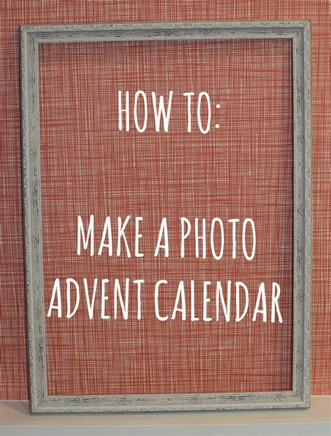 make your own calendar uk diy instagram advent calendar photobox