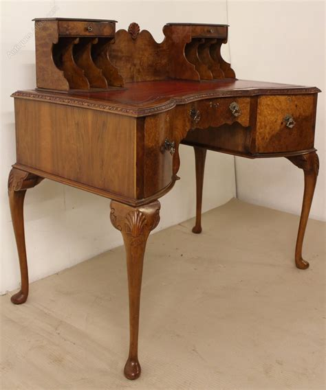 burr walnut writing desk antiques atlas
