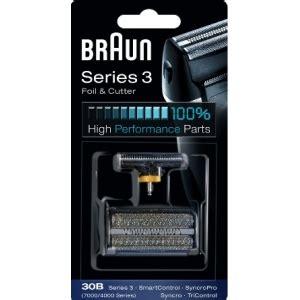 grille rasoir braun serie 3 braun 30 b grille et couteaux rasoir braun 7000 4000
