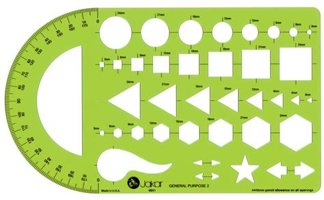 pattern drafting tools uk jakar stencils templates architectural technical artist