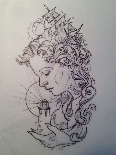 easy tattoo drawing ideas 17 mejores ideas sobre tatuajes de faro en pinterest