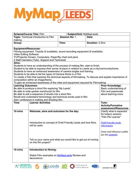 one page lesson plan template lesson plan template in word and pdf formats