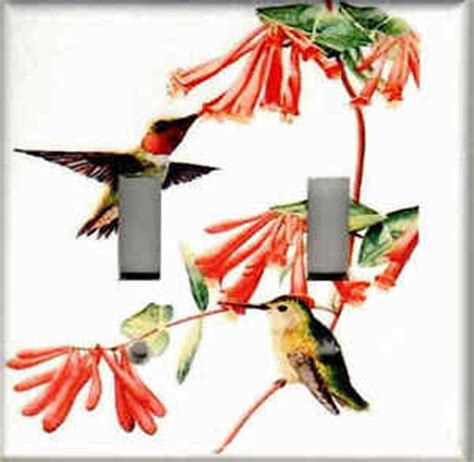 Hummingbird Home Decor Hummingbirds Hummingbird Home Decor Light Switch Plate Cover Ebay