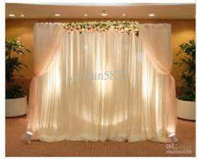 wedding backdrop sale white color wedding backdrop drape curtain for decoration