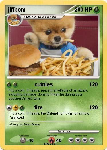 what type of is jiffpom pok 233 mon jiffpom 2 2 cutnies my card