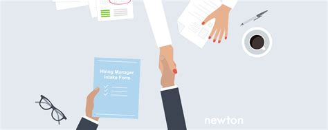 Hiring A Manager Questions Hiring Manager Intake Form For Recruiting Newton Software