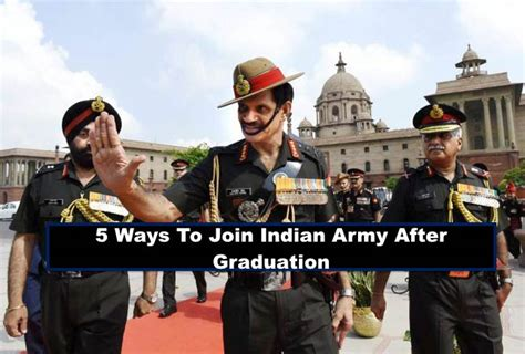 Join Militaty After Mba by 5 Ways To Join Indian Army After Graduation Nca Academy