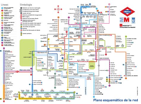 madrid metro map metro map pictures metro map of madrid pictures