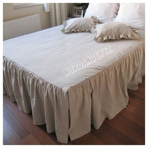 bed skirts queen oatmeal models and beds on pinterest