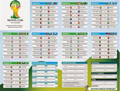 Calendario Copa Almanaque Mundial Brasil 2014 Mundial