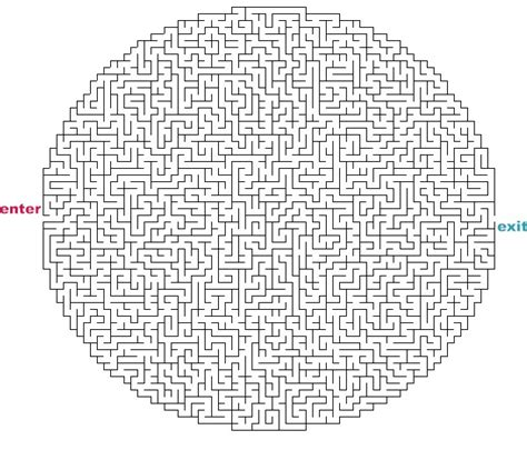 printable games hard free coloring pages of really hard mazes