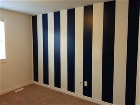 blue striped walls navy blue white vertical striped wall church painting