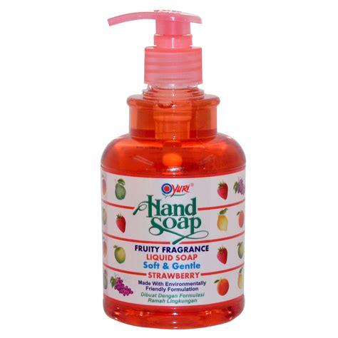 Soap Liquid Strawberry yuri soap strawberry liquid 410ml 12 gogobli