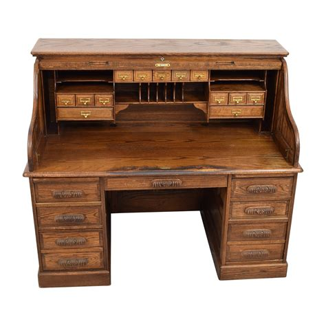 1980 roll top desk used oak roll top desk hostgarcia
