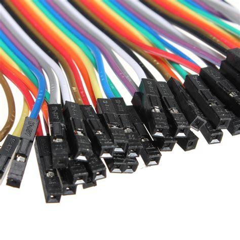 40p Jumper Cable 10 Cm To 1 3pcs 40p 20cm to dupont jumper jump cable wire for arduino alex nld
