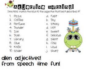 adjective aliens