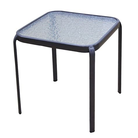 outdoor patio side tables quot quot outdoor side table rona