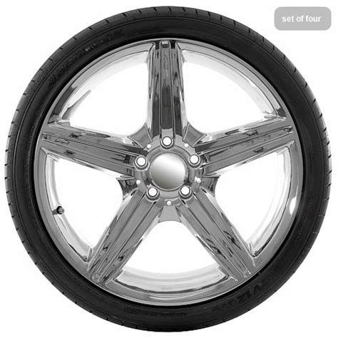 Mercedes Wheels And Tires by 19 Replica Mercedes Chrome Wheel And Tire Package