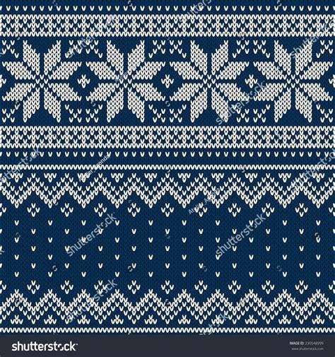 drawing knitting pattern christmas sweater design seamless knitting pattern stock