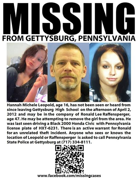 pennsylvania missing persons 14 best images about pennsylvania missing persons on