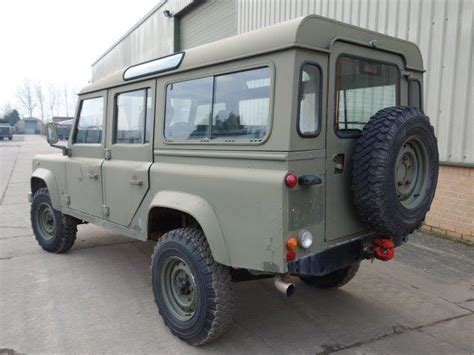 military land rover 110 land rover defender 110 rhd station wagon ex mod direct sales