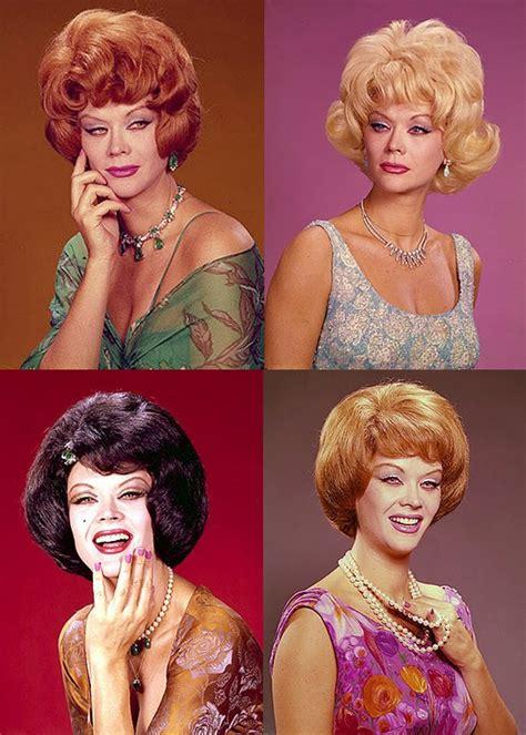 1950s and 1960s updo teased wigs monique van vooren wigs i have seen all these drag queens