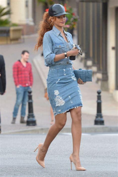 high waist single breast vintage jean skirt mixmoss