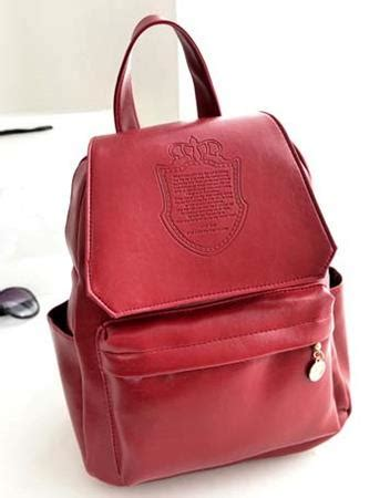 Backpack Import 90741 4 Warna jual tas ransel backpack korea murah import merah hitam