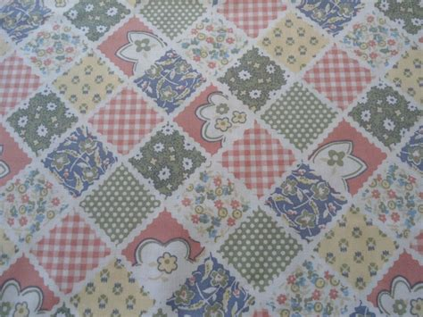 Patchwork Fabric By The Yard - patchwork fabric 1 1 2 quot squares fabric by the yard sewing