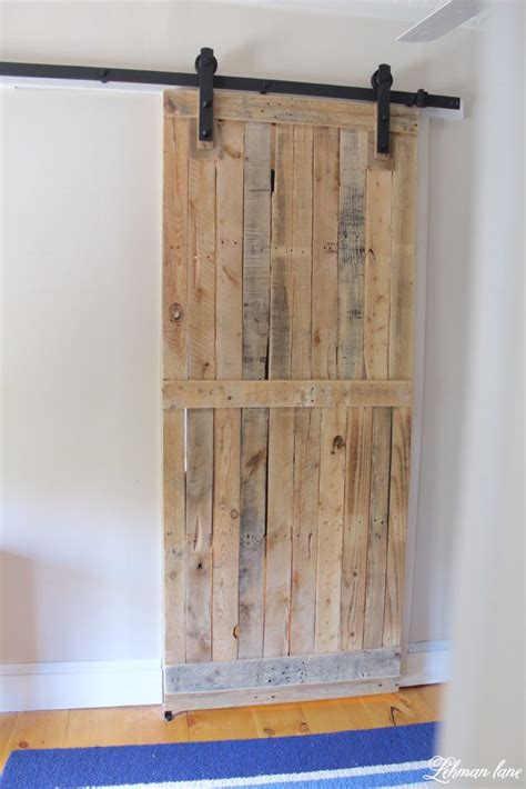 Diy Sliding Barn Door Plans 50 Diy Pallet Furniture Ideas Diy
