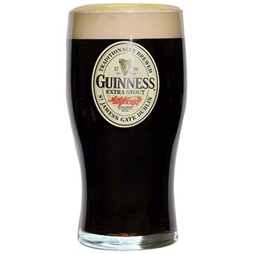 bicchieri guinness bicchiere guinness per soli 13 34 su merchandisingplaza