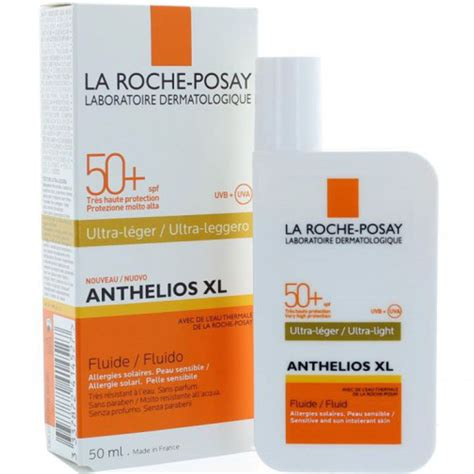 anthelios 50 mineral ultra light sunscreen fluid 1 7 fl oz la roche posay anthelios xl spf 50 ultra light sunscreen