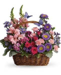 Ftd Send Flowers - country basket blooms teleflora t48 3a fresh flower